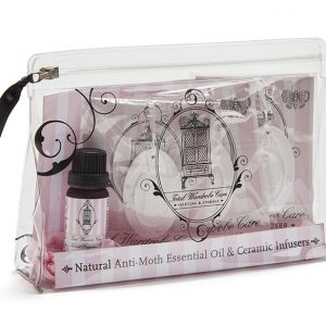 Natural anti-moth oil gift set - essential oils and infusers | Total Wardrobe Care