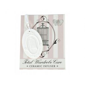 Ceramic wardrobe hanging infuser | Total Wardrobe Care