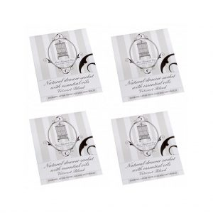 Pack of 4 Vetivert anti-moth drawer sachets | Total Wardrobe Care