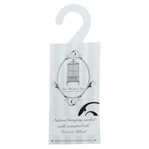 Vetivert blend hanging anti-moth sachet | Total Wardrobe Care