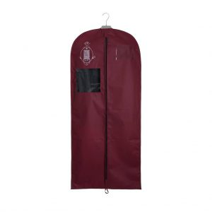Non-woven garment storage bag medium burgundy | Total Wardrobe Care