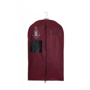 Non-woven garment storage bag small burgundy | Total Wardrobe Care