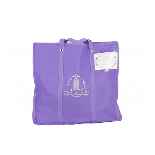 Total Wardrobe Care purple laundry bag