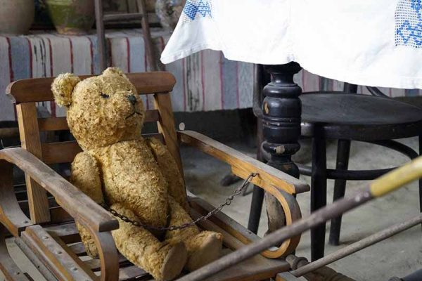 Teddy bear in chair | Total Wardrobe Care