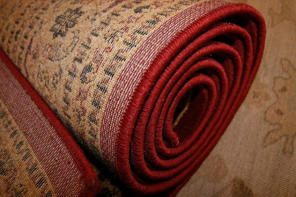 Rolled Up Rug | Total Wardrobe Care