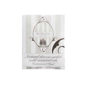 Natural anti moth Cedarwood drawer sachet