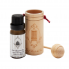 Essential oil cedarwood with wooden diffuser cup