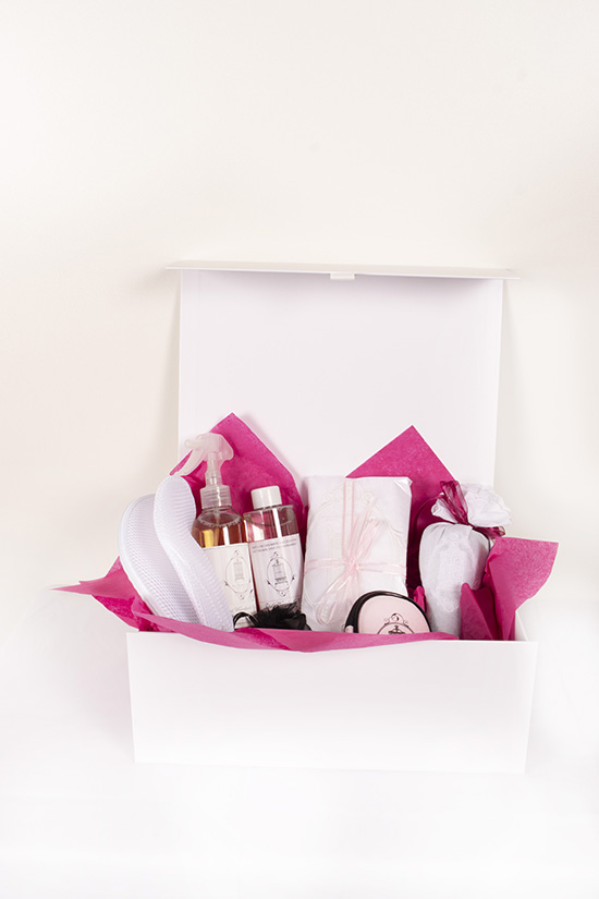 luxury cashmere infusion and moth protection set