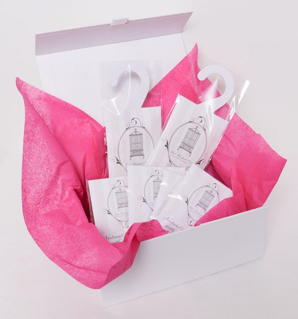 luxury scented gift set in white gift box